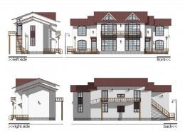 005-Architecture Plan & Design-밀양-팬션단지조성-01